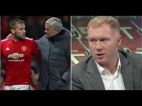 Paul Scholes spoke the truth about Luke Shaw and Jose Mourinho after Brighton win