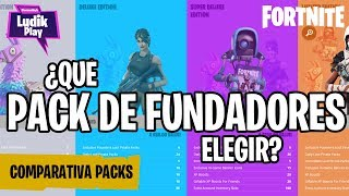 COMPARISON FOUNDER PACKS: SUPER-LUXURY, LIMITED, DEFINITIVE ? FORTNITE SAVE THE WORLD Guide