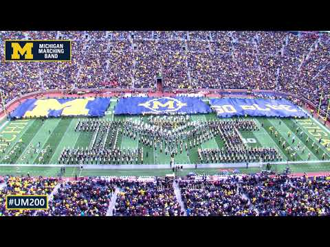 "The University of Michigan Marching Band - ""Always Marching, Forever Valiant"""