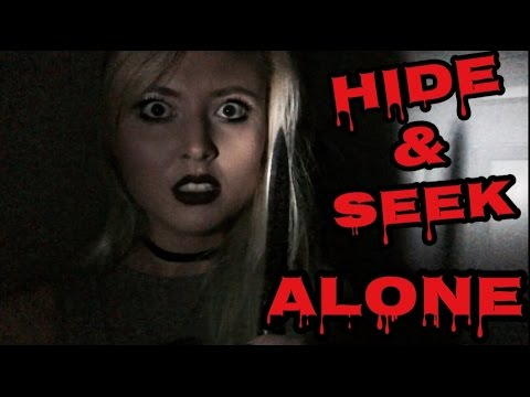 how to play hide and seek alone