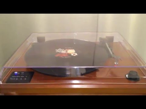 This Modern Turntable is Made of Wood and Sounds Amazing!