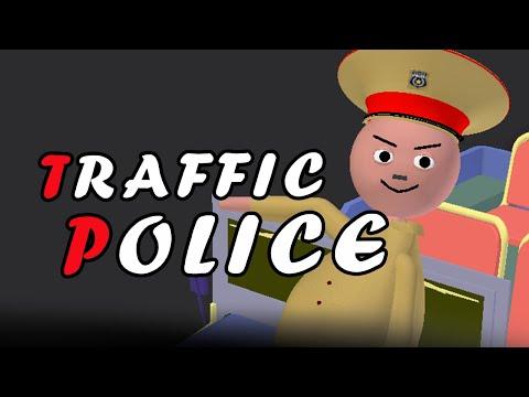 MAKE JOKE ON - ट्रैफिक पुलिस (TRAFFIC POLICE) | Tickle Finger