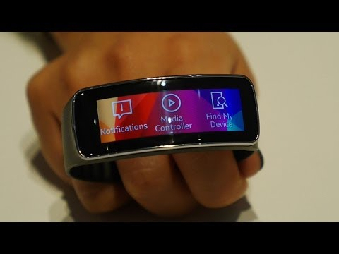 Samsung Fit hands on (MWC 2014)