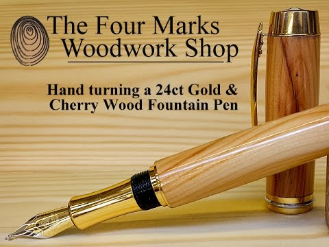 fountain pen makes