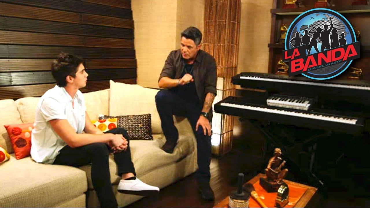 Alejandro Sanz Receives Johann Vera In His Studio Studio Vera Banda