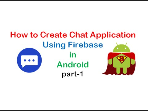 How to create chat application using firebase in android part1 how to create chat application using firebase in android part1 shoutcafe ccuart Gallery