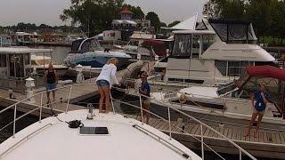 Docking At Peterborough Marina - Sit Back Sunday GoPro Boat Cruise