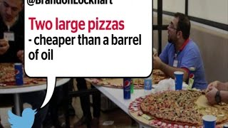 Oil price: $28 barrel of oil cheaper than water or pizza