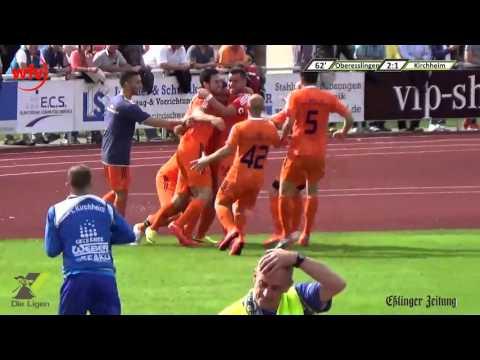 VfB Oberesslingen Zell - VfL Kirchheim (21.06.2015)