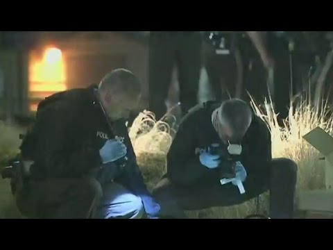 Two officers shot outside Ferguson police dept.