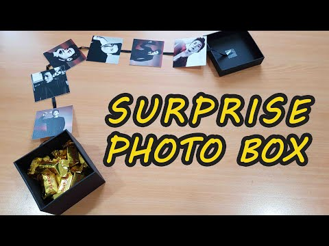 IDE KREATIF MEMBUAT HADIAH | CARA MEMBUAT EXPLOSION BOX / PHOTO BOX | BASIC EXPLOSION BOX TUTORIAL
