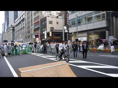 Skateboarding and BMX demo at Tokyo 2020 Olympic Countdown [RAW VIDEO]