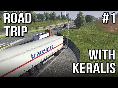 Road Trip With Keralis | Ep 1 of 3 | Euro Truck Simulator 2 Multiplayer