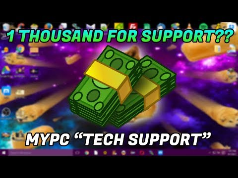 Tech Support Scam / $1,000 for tech support?? - 1-877-475-7718 - www.mypcsupport24x7.com