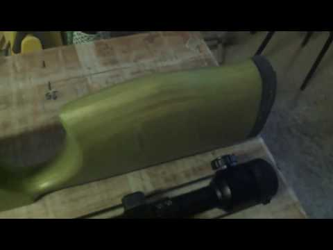nuovo calcio per carabina / new calcium for airgun