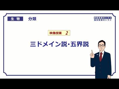 【高校生物】 分類2 三ドメイン説・五界説(17分)