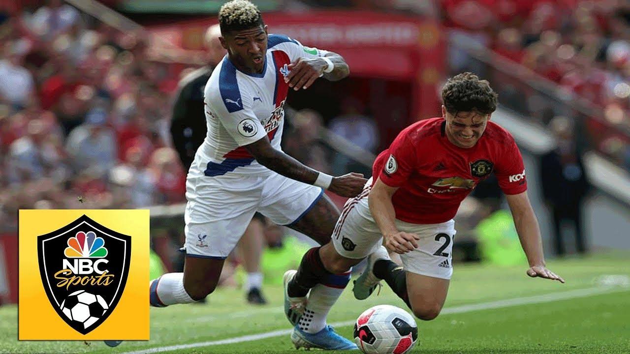 Patrick van Aanholt scores stoppage-time winner v. Man Utd | Premier League | NBC Sports