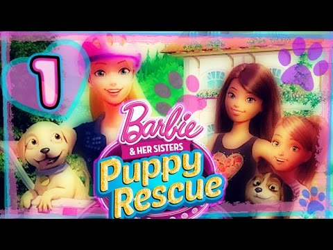 Barbie And Her Sisters: Puppy Rescue Part 1 (PS3, Wii, X360, WiiU) Full Gameplay