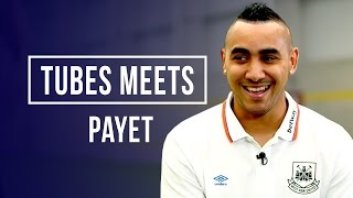 How often do you practice your free kicks? Tubes Meets Dimitri Payet