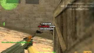 M!L@N0 cs Serbia 6 kill ak-47 de_dust2 A