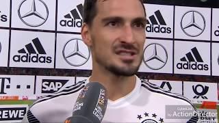 MATS HUMMELS im Interview nach 0:3 | DEUTSCHLAND gegen NIEDERLANDE 0:3