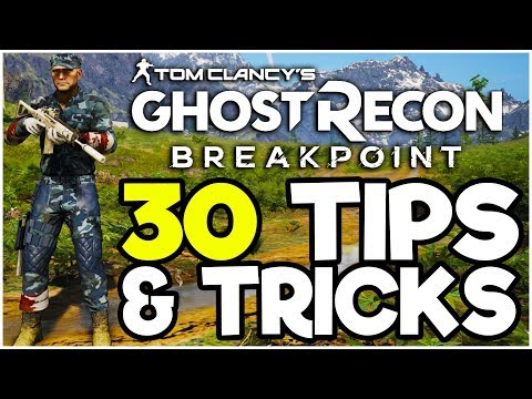 30 NEED TO KNOW Tips & Tricks! - Ghost Recon Breakpoint