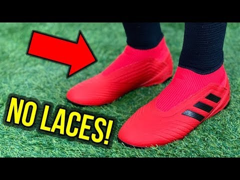 THE CHEAPEST LACELESS BOOTS EVER! - ADIDAS PREDATOR 19.3 LACELESS - REVIEW + ON FEET