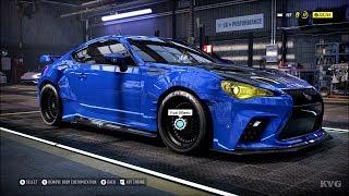 Need for Speed Heat - Subaru BRZ Premium 2014 - Customize | Tuning Car (PC HD) [1080p60FPS]
