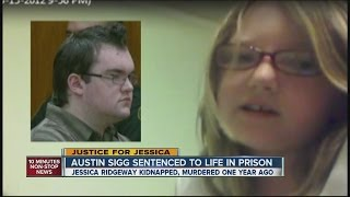 Austin Sigg sentenced to life in prison