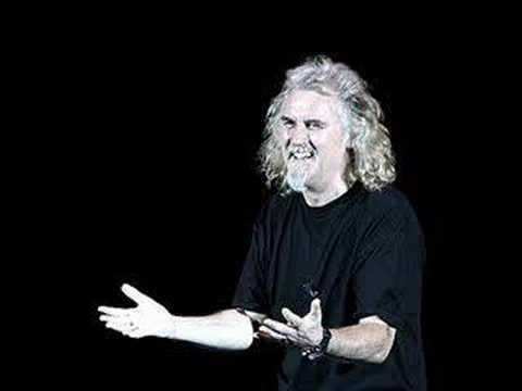 Billy Connolly: Short Haired Police Cadet.