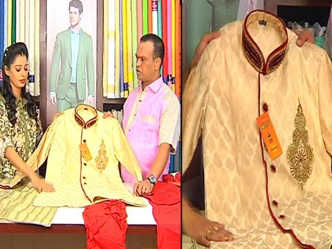 Men's Designer Linen Kurta Pyjamas Collection in Ethnic wear &  Bridal Wear || Linen Fashion