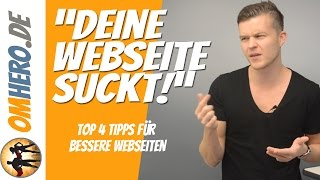 Website Optimierung: Top 4 Tipps für Deine Website (Wix, Jimdo, Blogspot, Wordpress etc.)