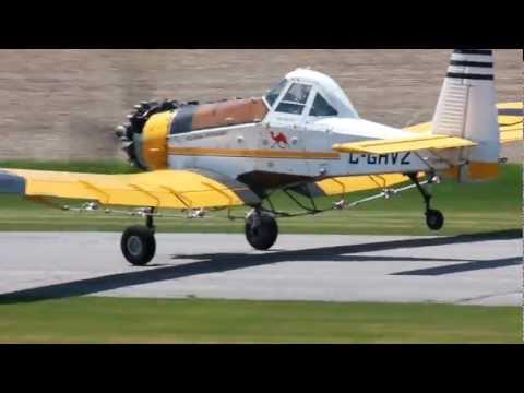 [HD] Turbine Pezetel M18 Dromader and Radial Pezetel M18A Dromader Landing CSU3