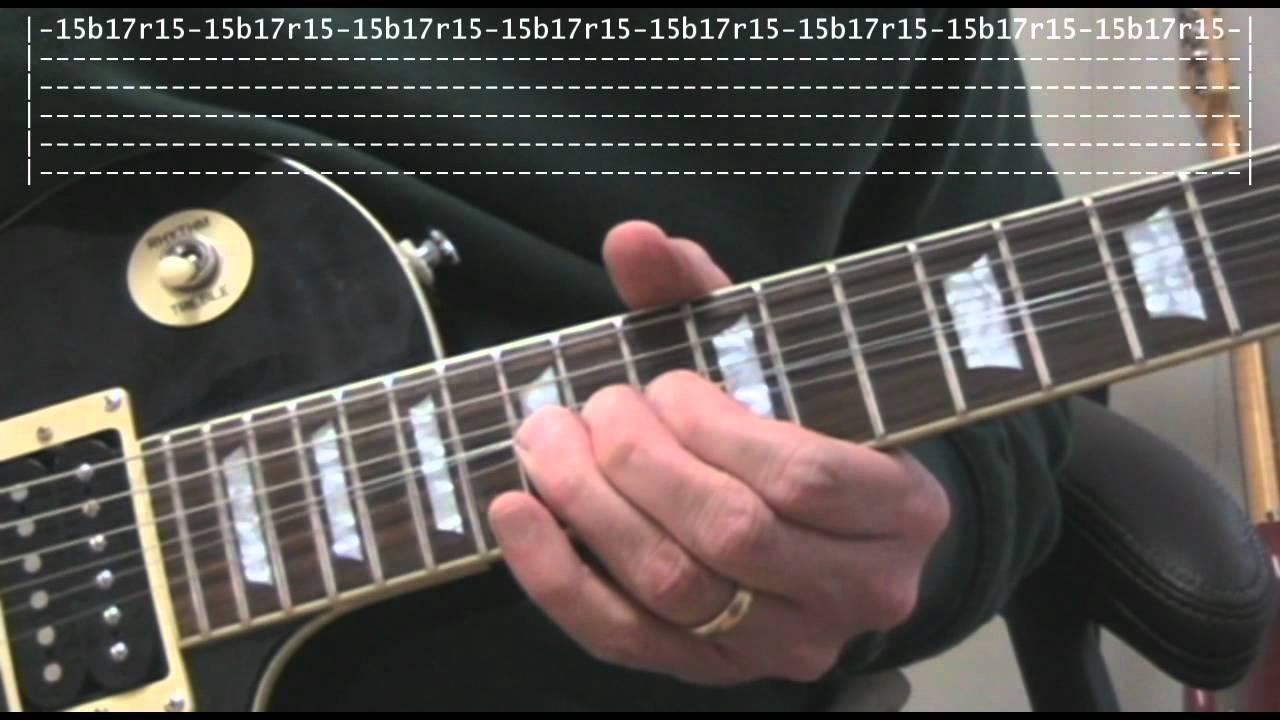 Baker street guitar lick