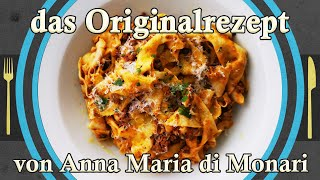Bolognese - the recipe von Anna Maria di Monari from Bolgogna