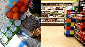 Was kosten Lebensmittel in Spanien?   Aldi Supermarkt Vlog   Maya Montri
