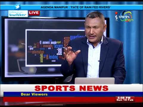 FATE OF RAIN FED RIVERS On Agenda Manipur 18 February 2018