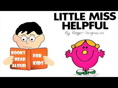 Kids Bedtime Story   LITTLE MISS HELPFUL Read Aloud by Books Read Aloud for Kids