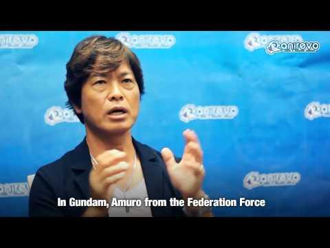 [ANIREVO SUMMER 2013] Toru Furuya Exclusive Interview