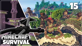World Tour and Dragon Fight - Minecraft 1.16 Survival Let's Play [DOWNLOAD]