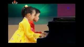[Piano] Kim Tae Ho, Ri Chi Yeon - Ragtime {DPRK}