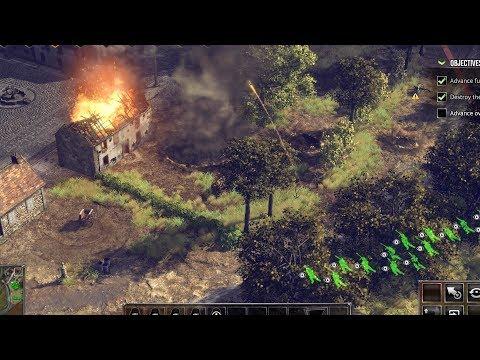 Sudden Strike 4 German Mission 2 - Battle of France - Ultra HD Titan X