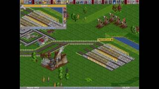 Transport Tycoon Deluxe (1994) [MS-DOS]