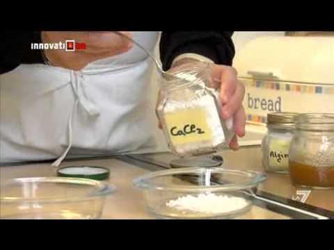 Innovation la7 fisico da chef la cucina molecolare youtube - Cucina molecolare chef ...