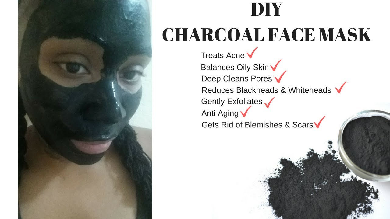HOW TO MAKE THE BEST CHARCOAL FACE MASK | Get Rid of Acne, Blackheads & Whiteheads | Easy DIY