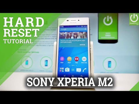 Hard Reset SONY Xperia M2 Aqua - Reset Code / Reset Customization