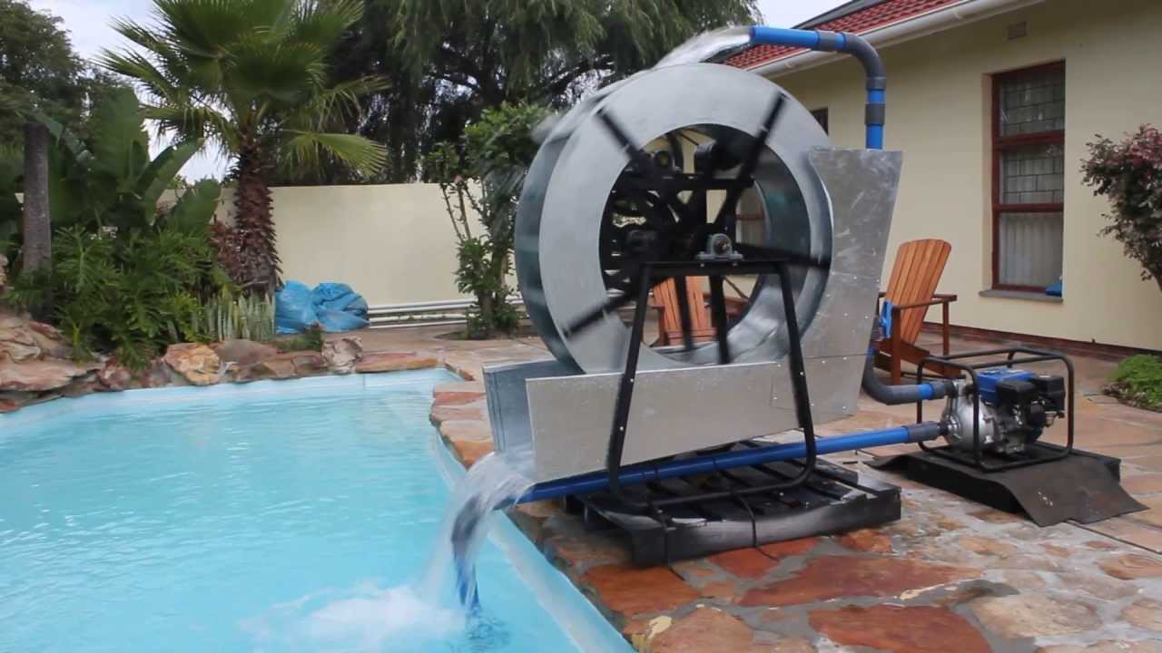 Water Wheel Generator Youtube