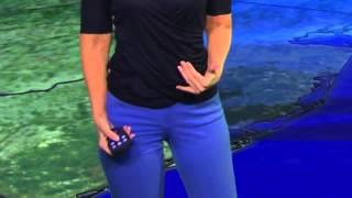 PIX11 Morning News - Linda Church tight pants close-up (12-18-13)