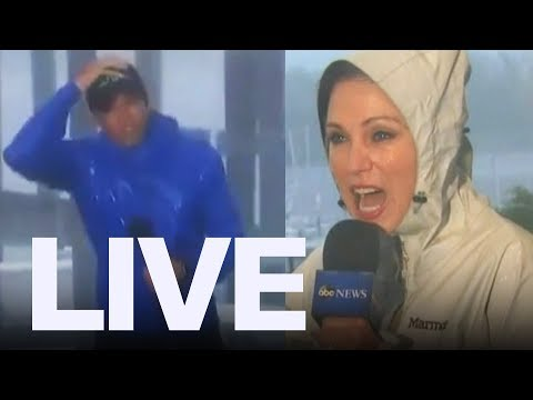 Hurricane Florence Dangerous Reporting | ET Canada LIVE