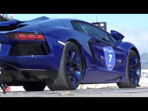 Lamborghini Aventador launch - Unlim 500+ Dragster race in Tympaki, Crete, Greece - 17/11/2013